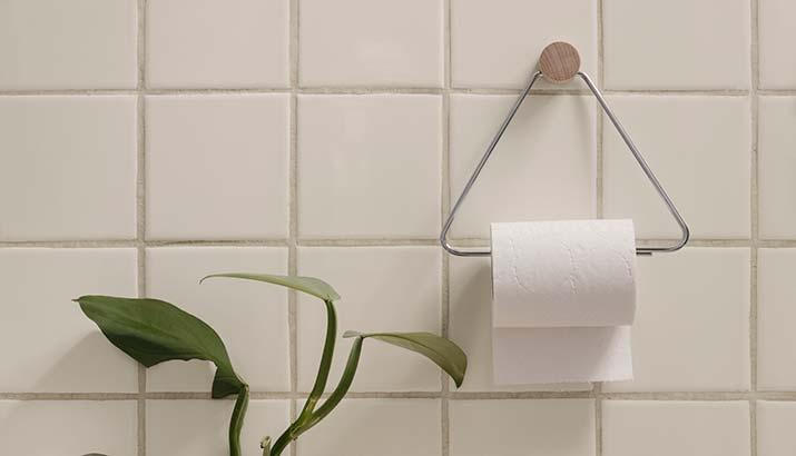 Ferm Living Toiletrulleholder & Håndklædeholder