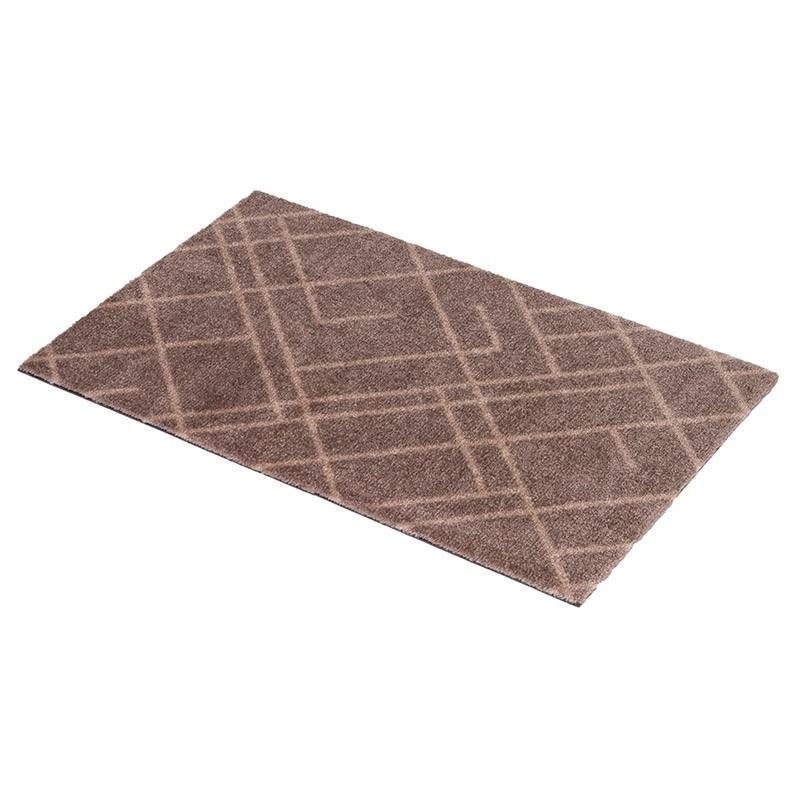 Tica Copenhagen Smudsmåtte m. Lines Sand/Beige 40x60cm-31
