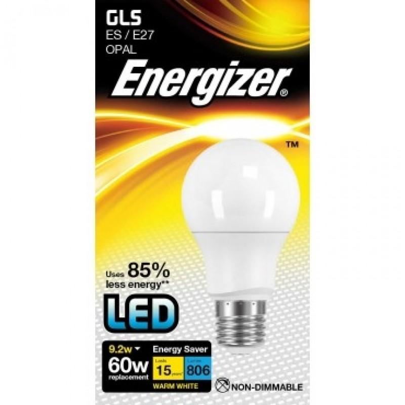 ENERGIZER LED Pære Varm Hvid E27 9.2W-31