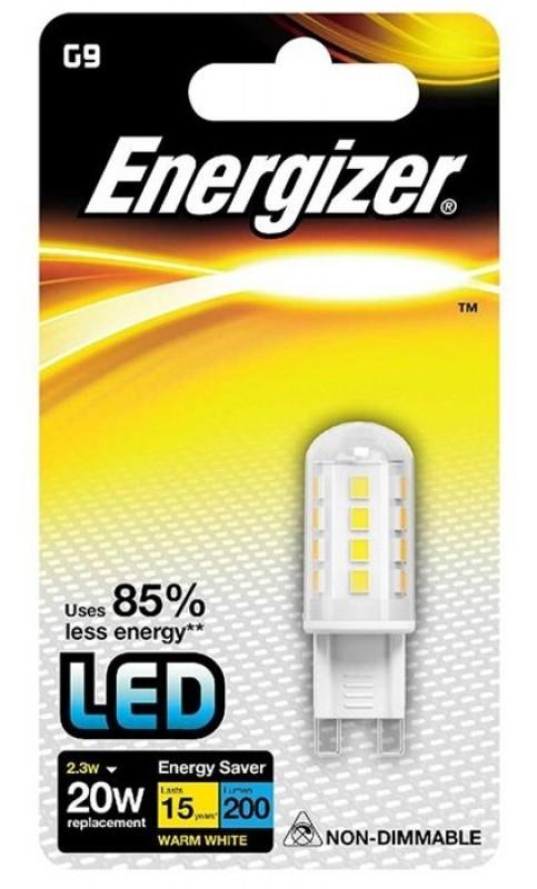 ENERGIZER High Tech LED G9 Pære 2W Varm Hvid-31
