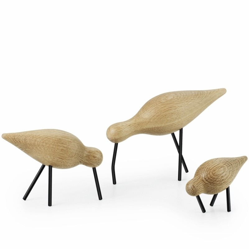 Normann Copenhagen Shorebird Large Sort-31