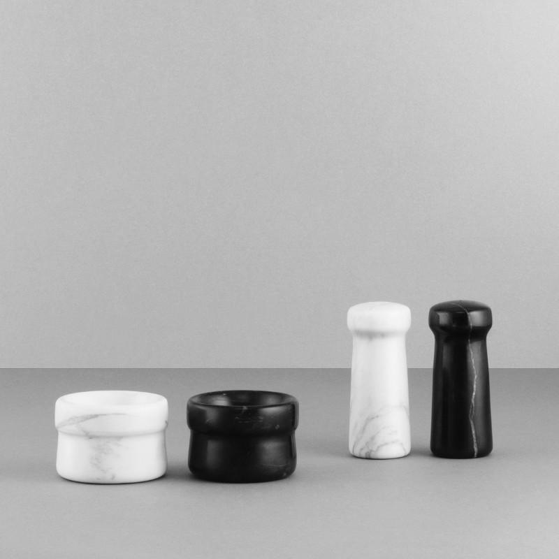 Normann Copenhagen Craft Marmor Saltkar Sort-31
