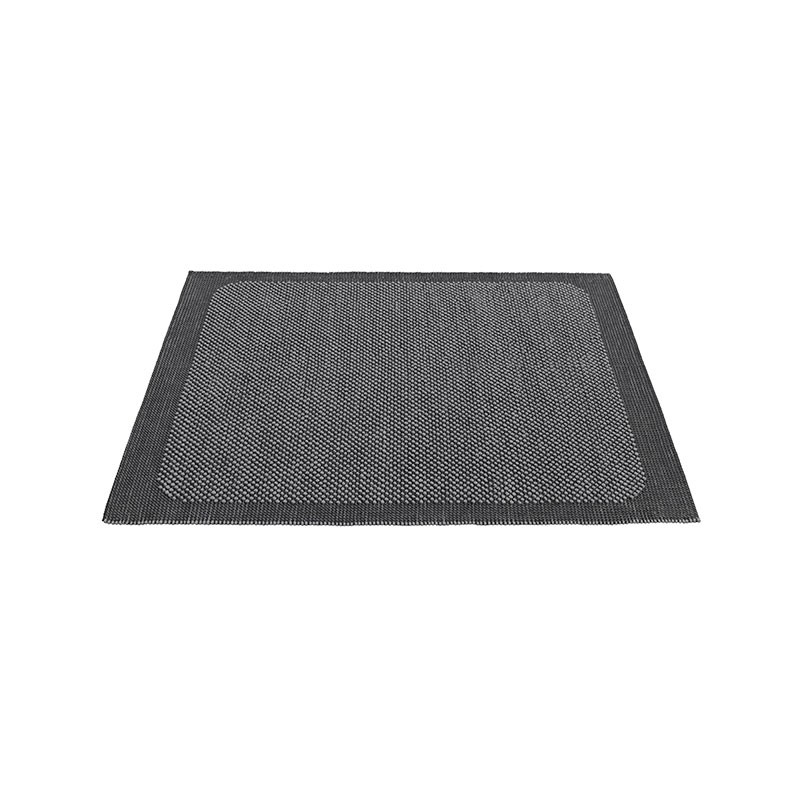 MUUTO Pebble Tæppe str. 170X240 cm. Dark Grey-31