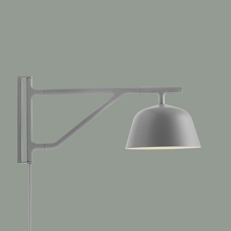 MUUTO Ambit Wall Væglampe Grå-31