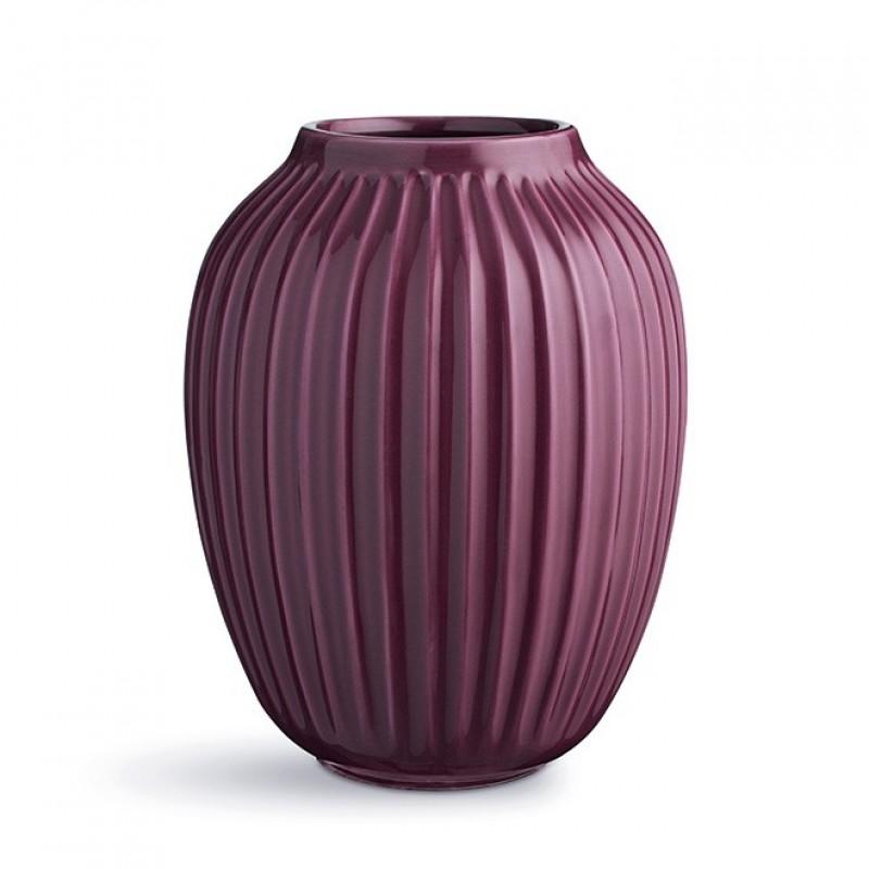 Kähler Hammershøi Vase H250 Blomme-31