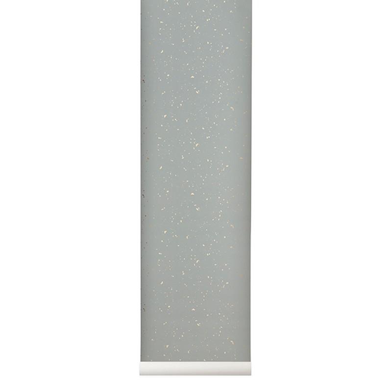 Ferm Living Tapet Confetti Grå-32