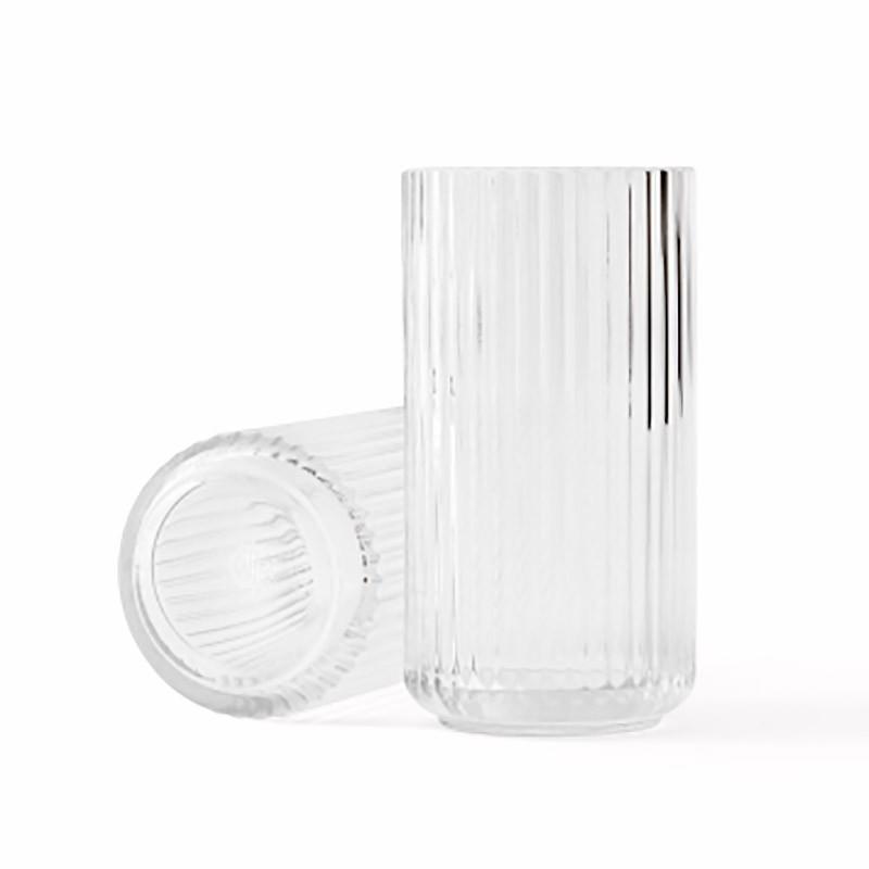 Lyngby Porcelæn Glas Vase Klar 20 cm-31