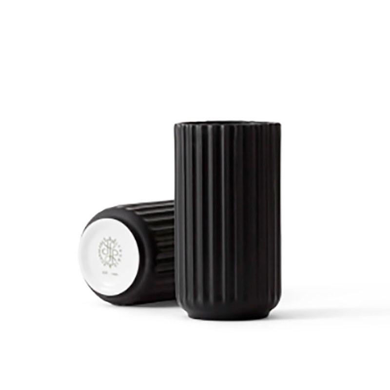 Lyngby Porcelæn Vase Sort 12 cm-31
