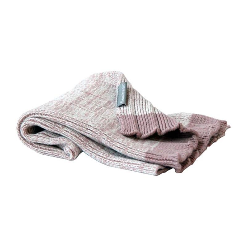 Semibasic Plissé Håndklæde HAND Rosa-31