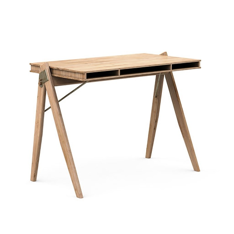 We Do Wood Skrivebord Field Desk-31