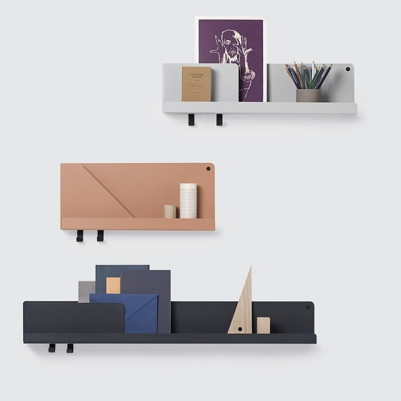 Muuto Folded Shelves Hylde Large Sort-31