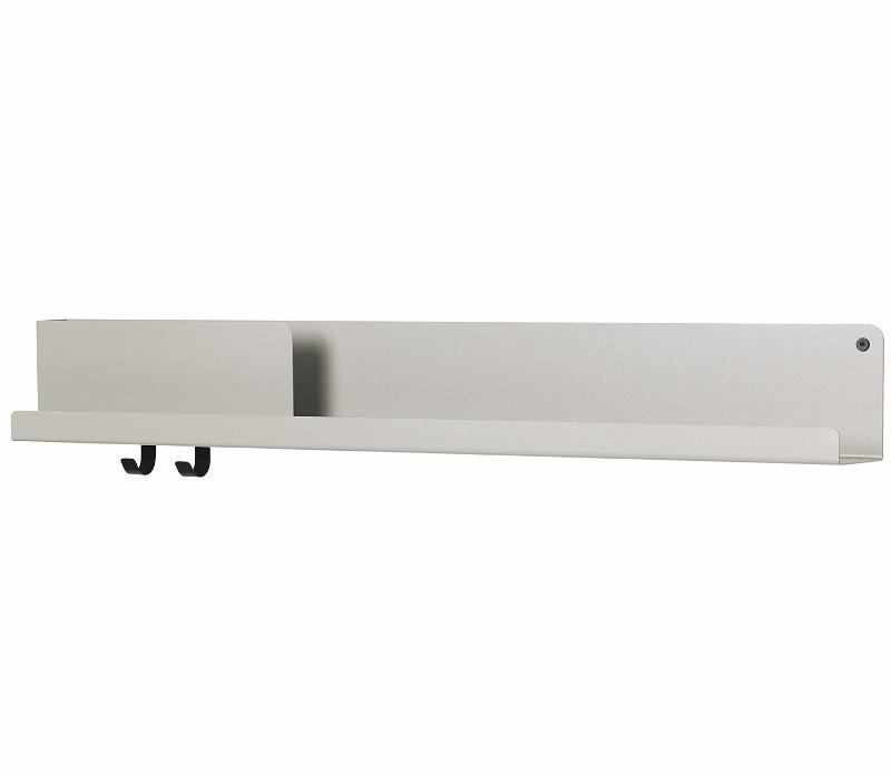 Muuto Folded Shelves Hylde Large Grå-31