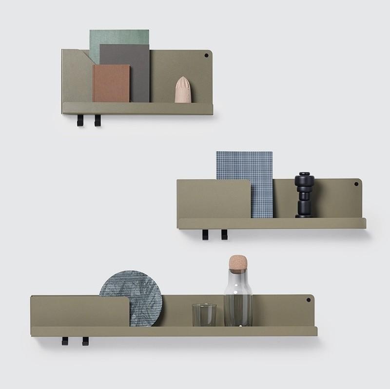 Muuto Folded Shelves Hylde Large Light Terracotta-31
