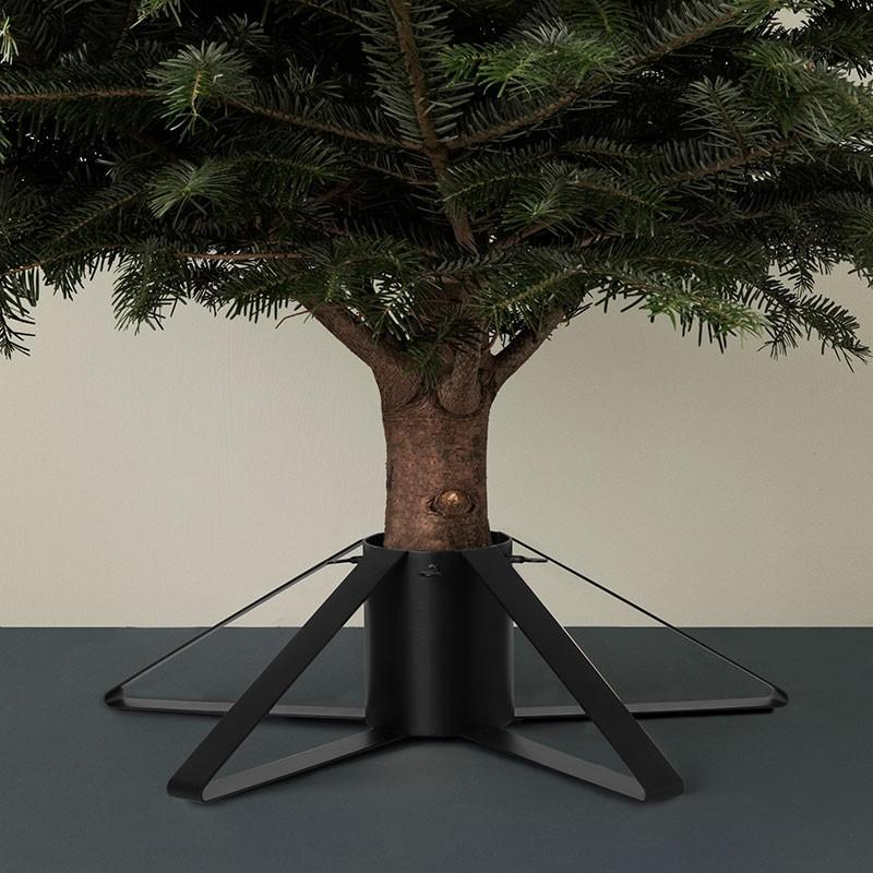 Ferm Living Juletræsfod Sort-31