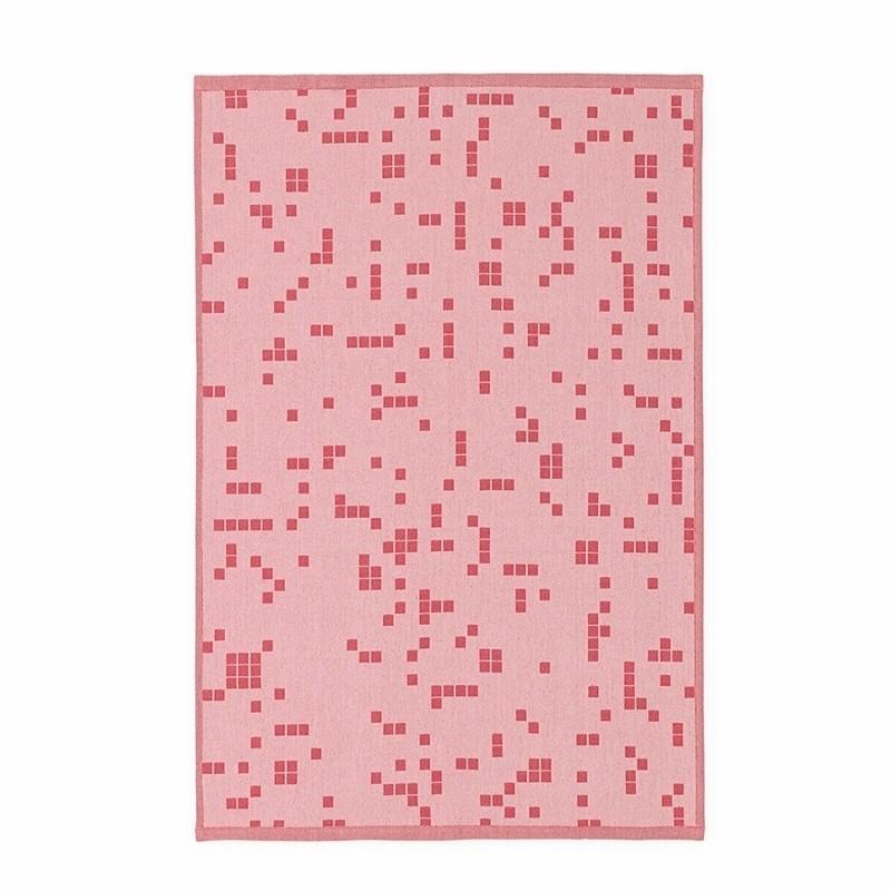 Normann Copenhagen Illusion Viskestykke Pink-31