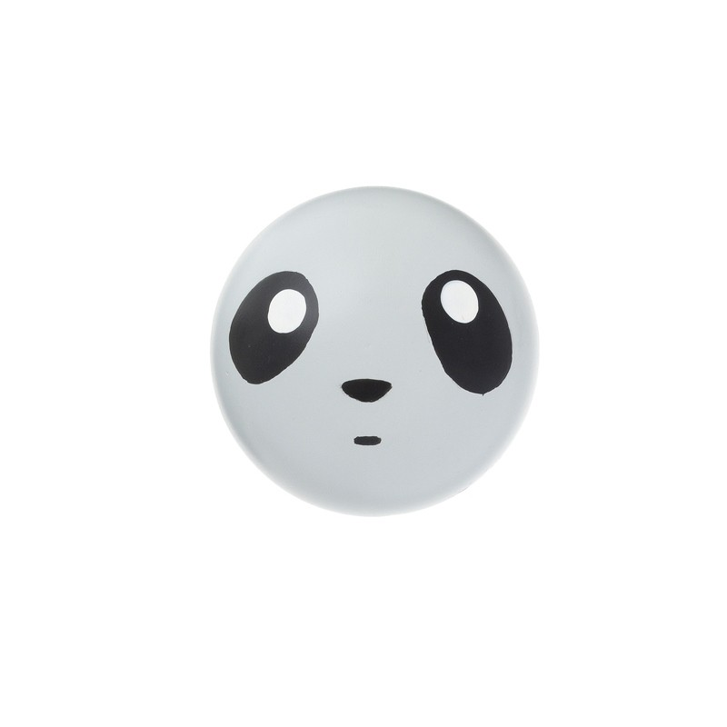 Ferm Living Knag Panda Lysegrå-31