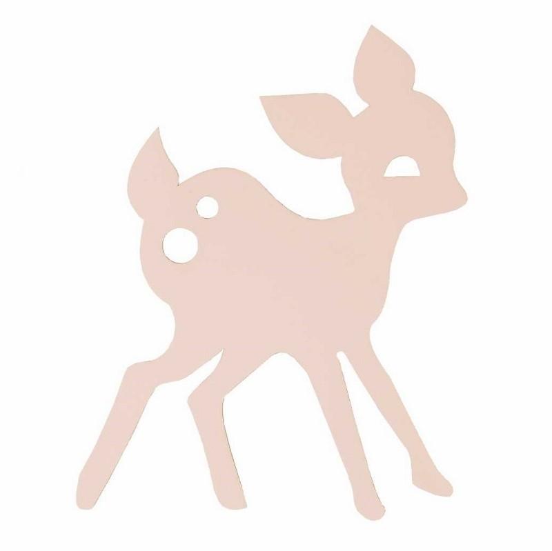 Ferm Living Børne Lampe My Deer Rosa-31