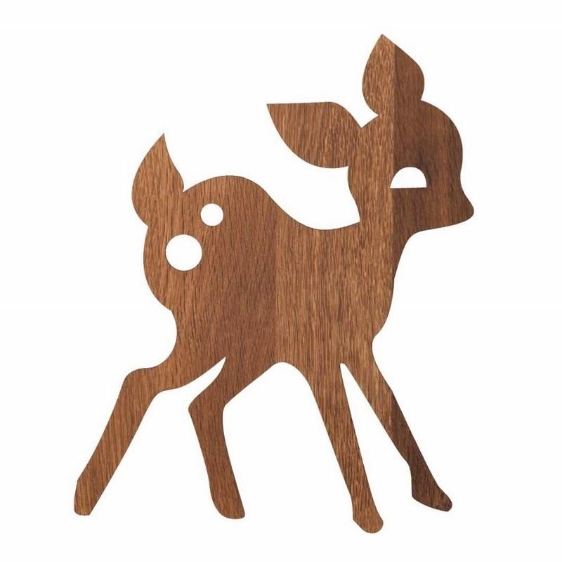 Ferm Living Børne Lampe My Deer Røget Eg-31