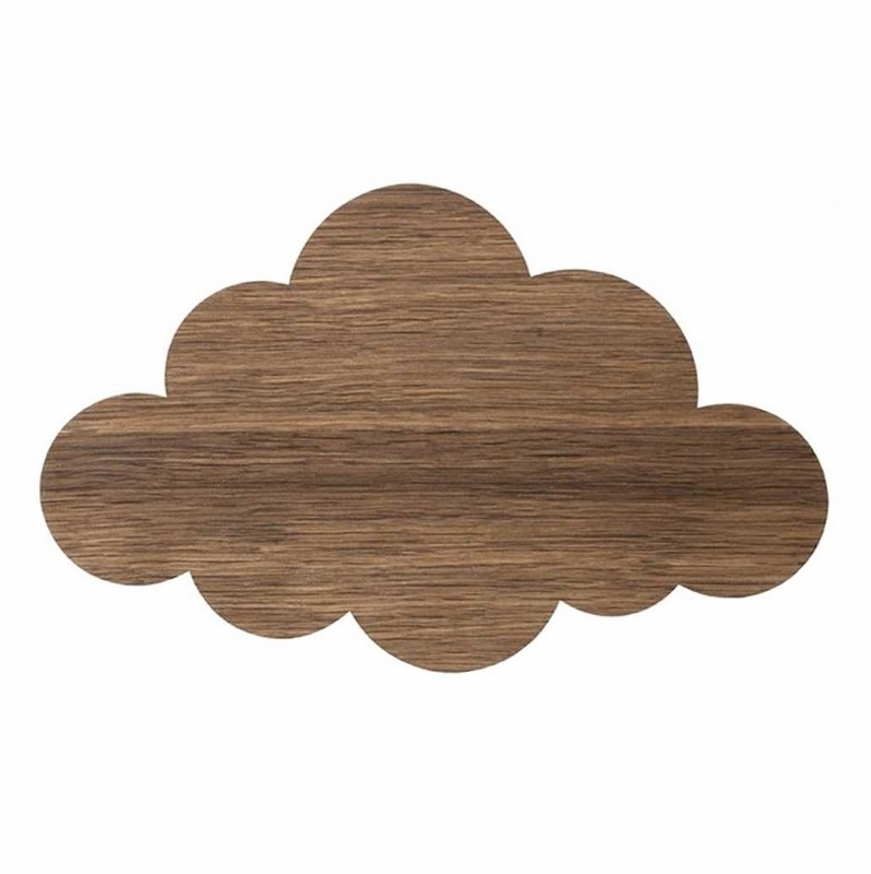 Ferm Living Børne Lampe Cloud Røget Eg-31