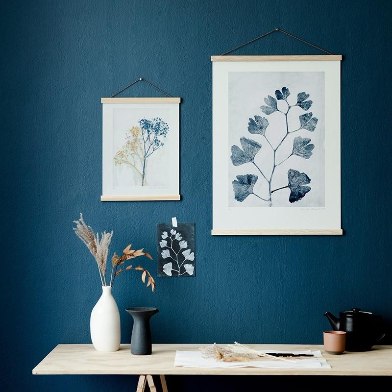 Pernille Folcarelli Gypso Mustard/Blue 30x40 cm-31