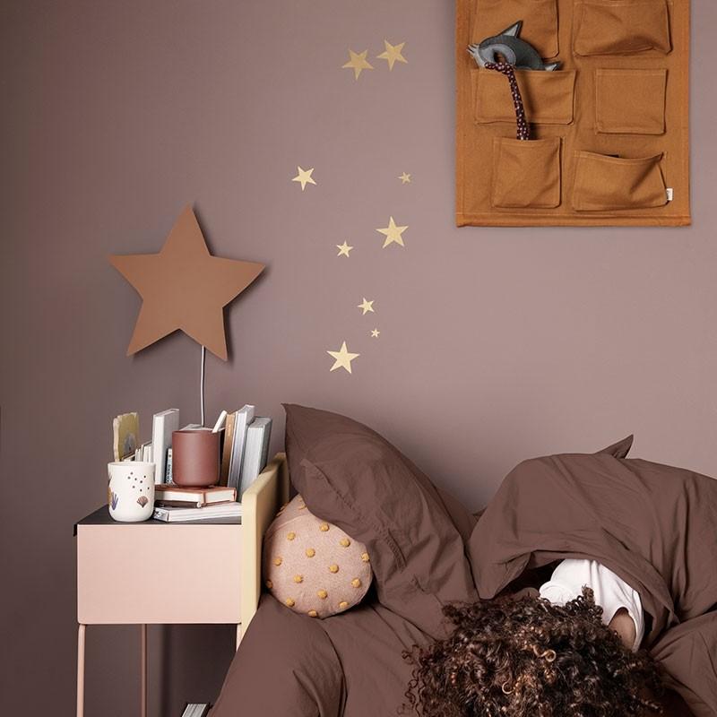 ferm living stjerne b rne lampe mustard k bes hos designme designme. Black Bedroom Furniture Sets. Home Design Ideas
