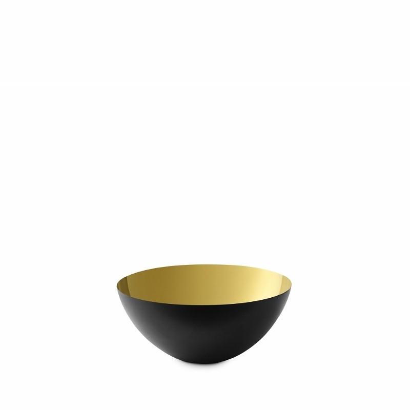Normann Copenhagen Krenit Skål 8,4 cm. Guld-31