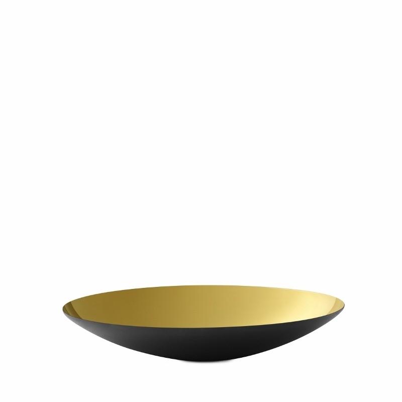 Normann Copenhagen Krenit Fad 16 cm. Guld-31