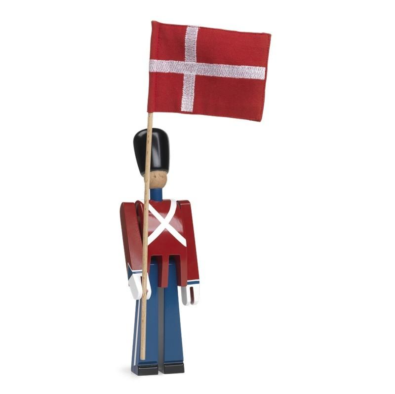 Kay Bojesen Fanebærer Med Tekstilflag-31