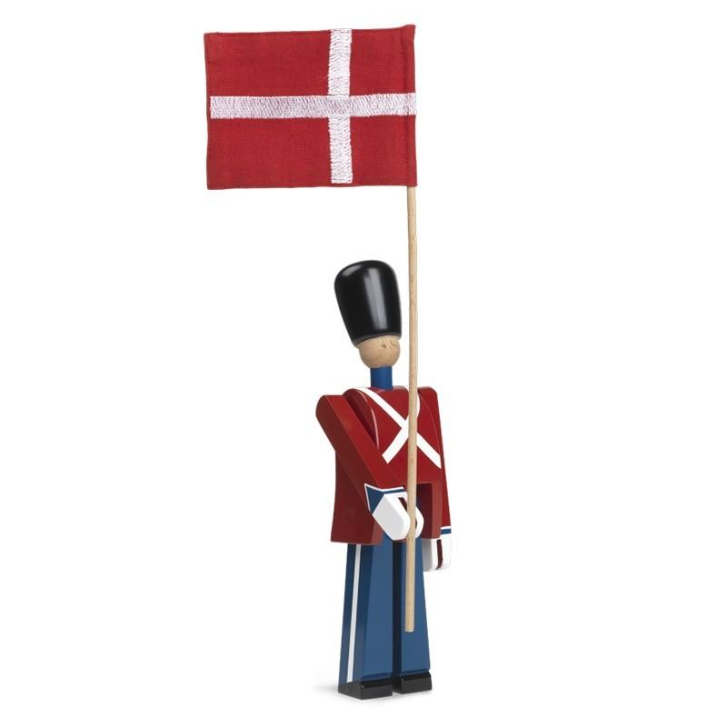 Kay Bojesen Fanebærer Med Tekstilflag Lille-31