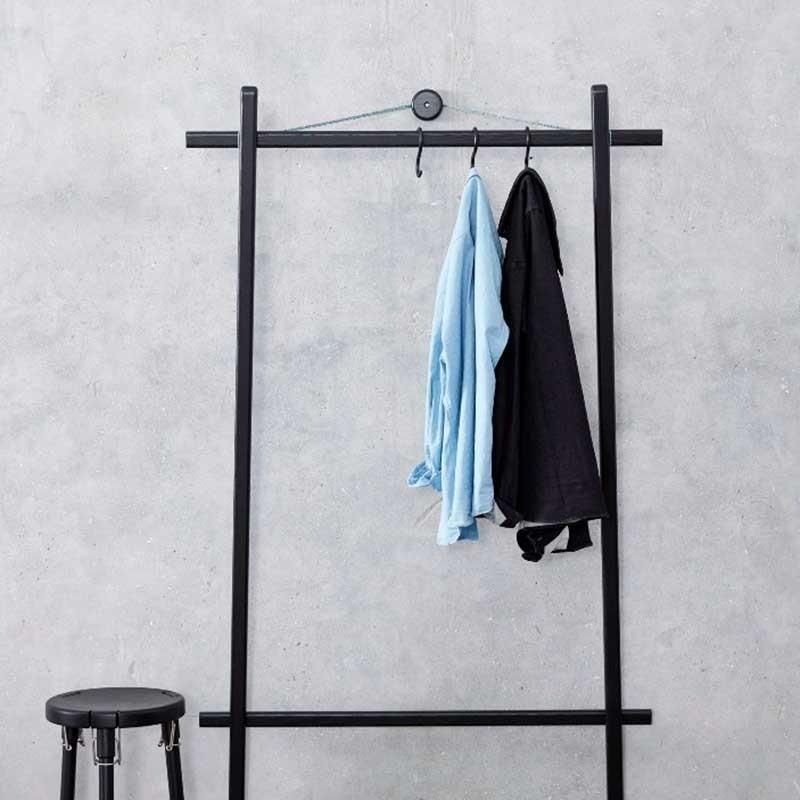 Andersen Furniture Unique Tøjstativ Sort-31