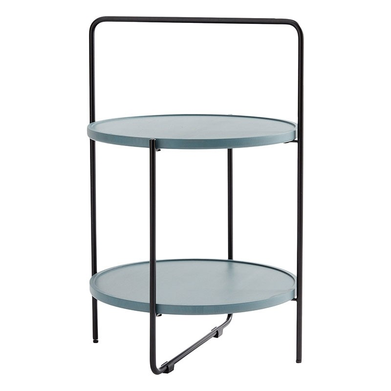 Andersen Furniture Bakkebord Sort/Petroleum-31
