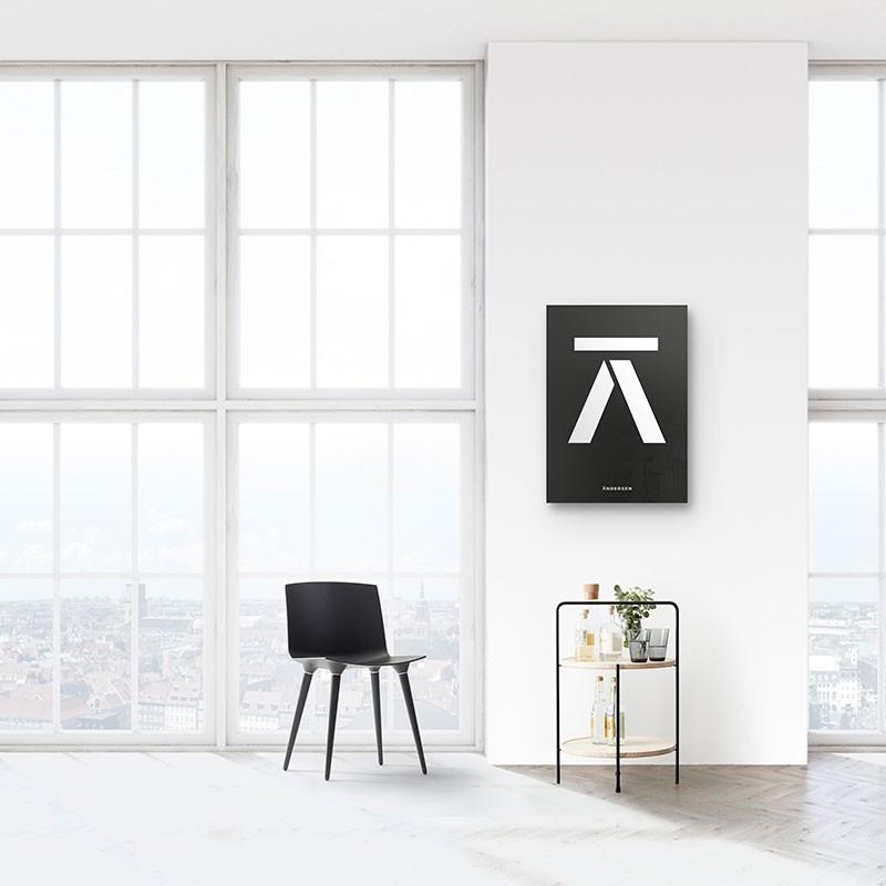 Andersen Furniture Bakkebord Sort/Ask-31