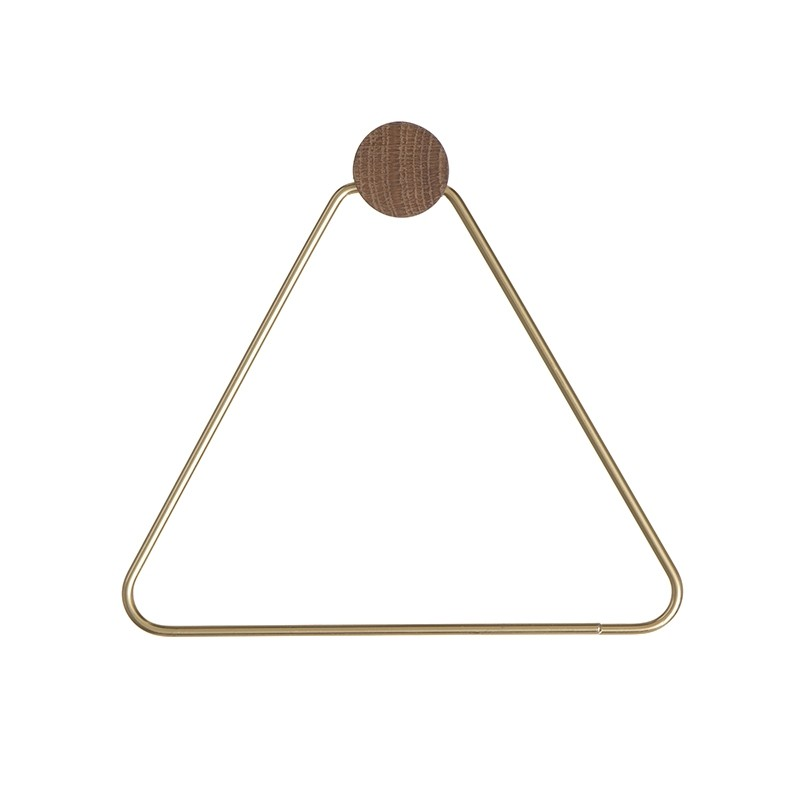 Ferm Living Toiletrulleholder Messing-31