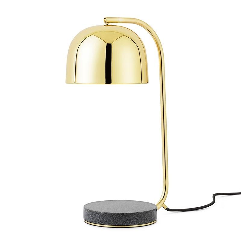Normann Copenhagen Grant Bordlampe Messing-31