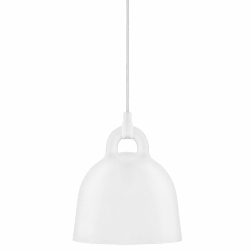 Normann Copenhagen Bell Lampe X-Small Hvid-31