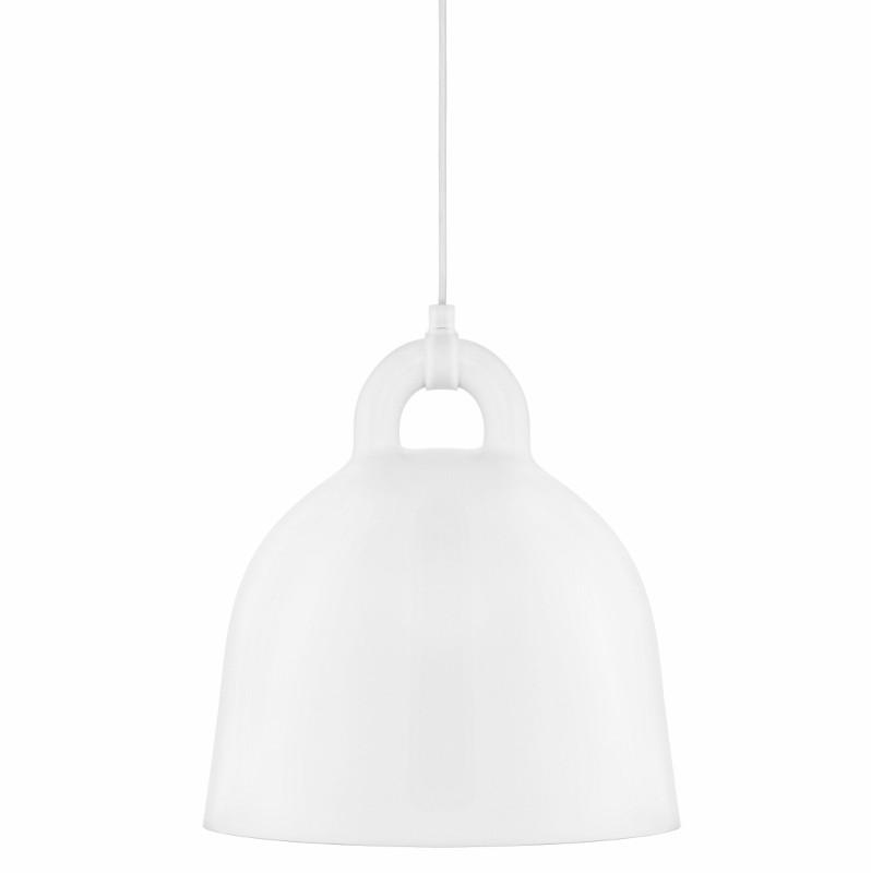 Normann Copenhagen Bell Lampe Small Hvid-31