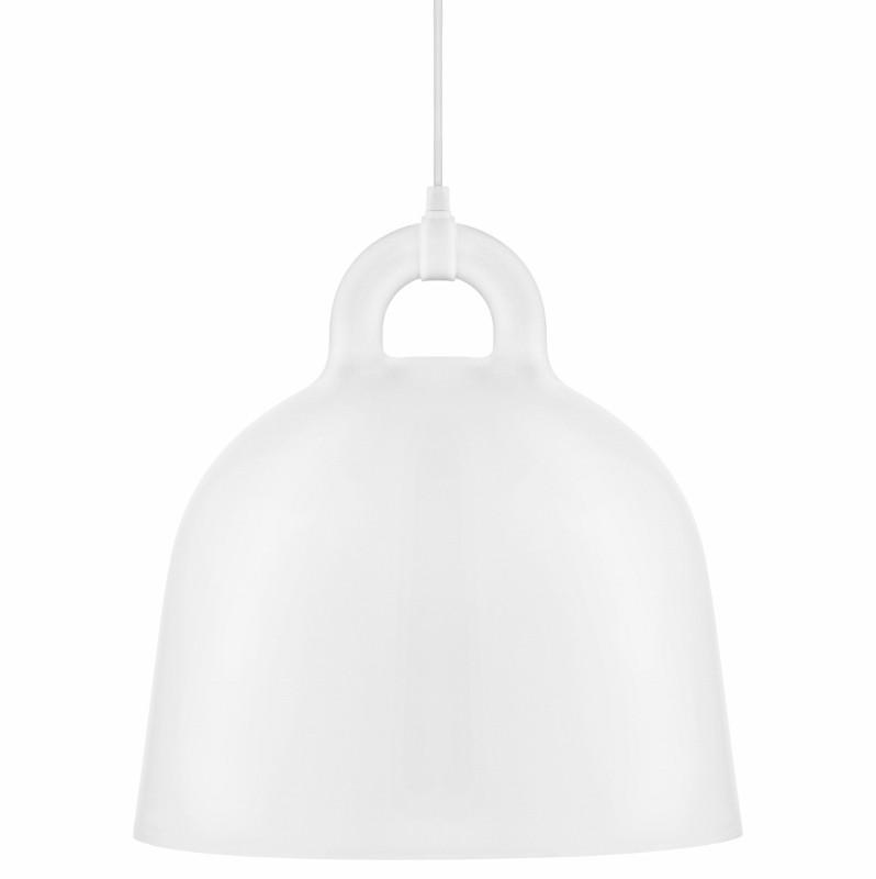 Normann Copenhagen Bell Lampe Medium Hvid-31