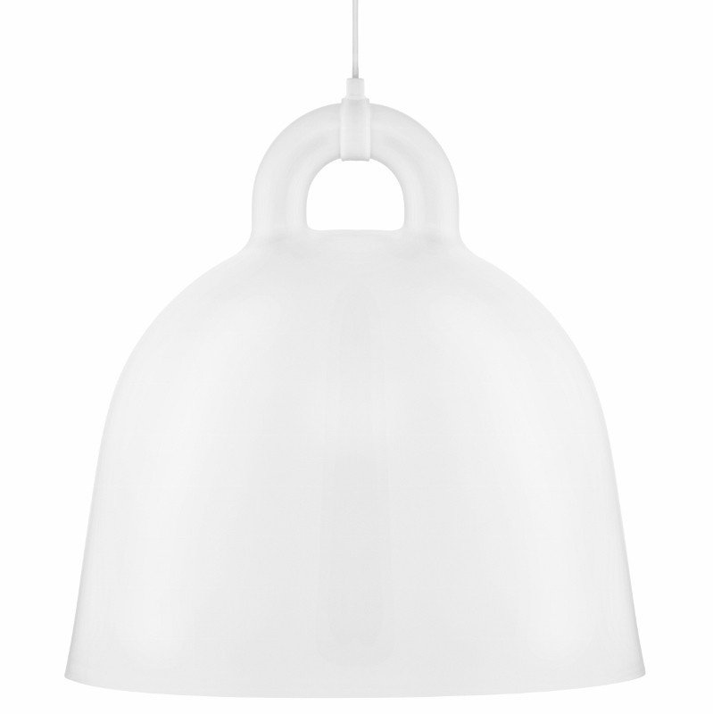 Normann Copenhagen Bell Lampe Large Hvid-31