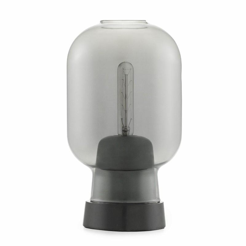 Normann Copenhagen Amp bordlampe Smoke/Sort-31