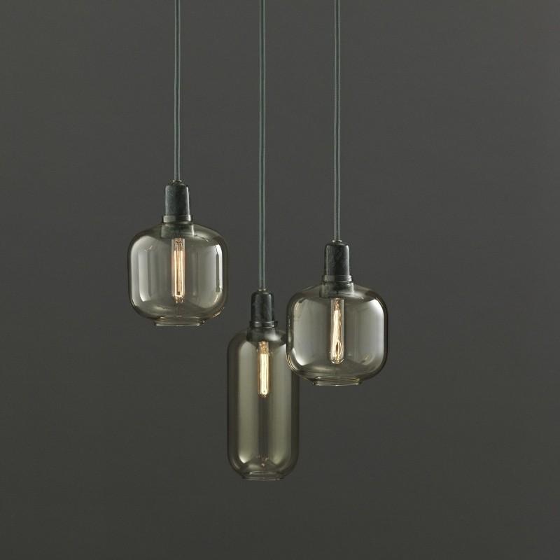 Normann Copenhagen Amp lampe Guld/Green Small-31