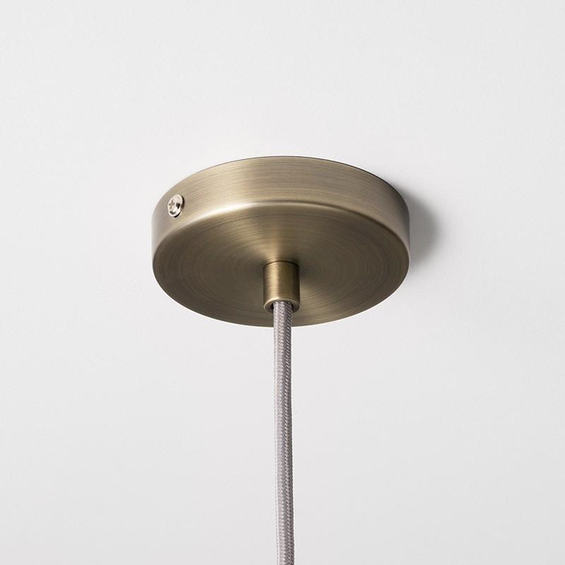Ferm Living Socket Pendel Høj Messing-31