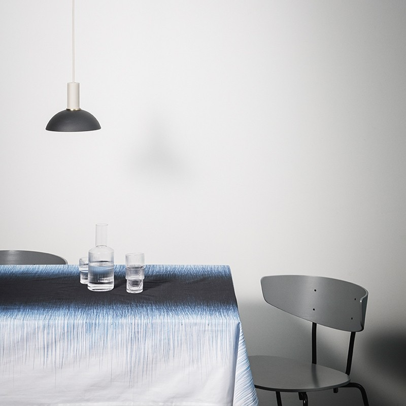 Ferm Living Socket Pendel Lav Lysegrå-31