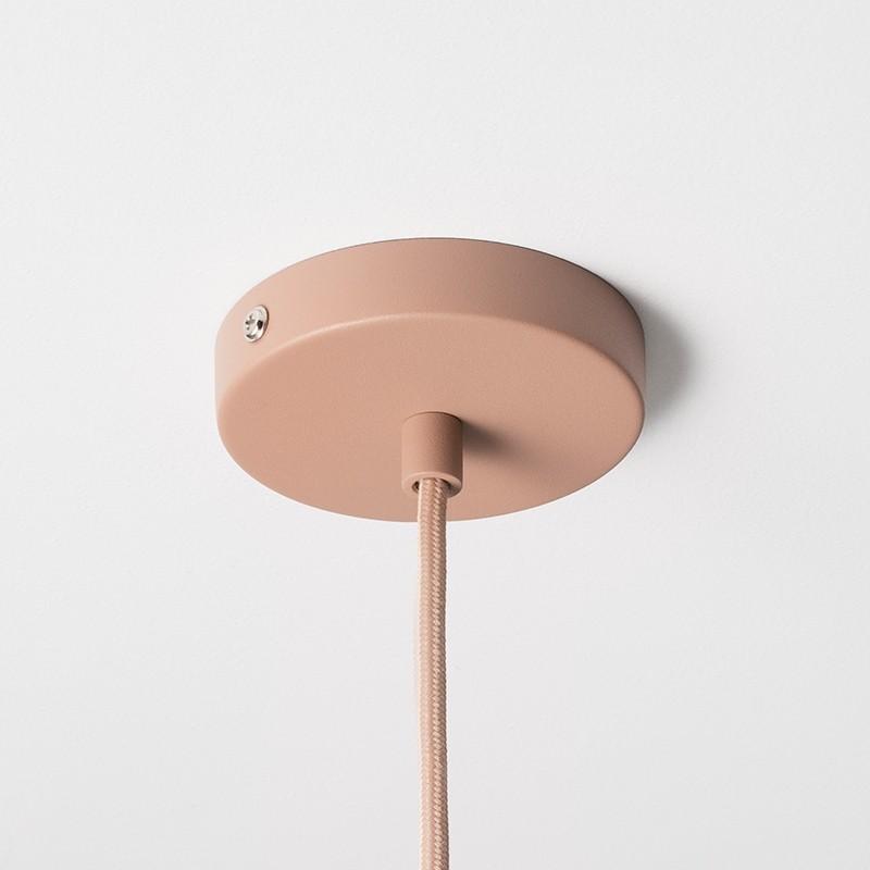 Ferm Living Socket Pendel Lav Rosa-31