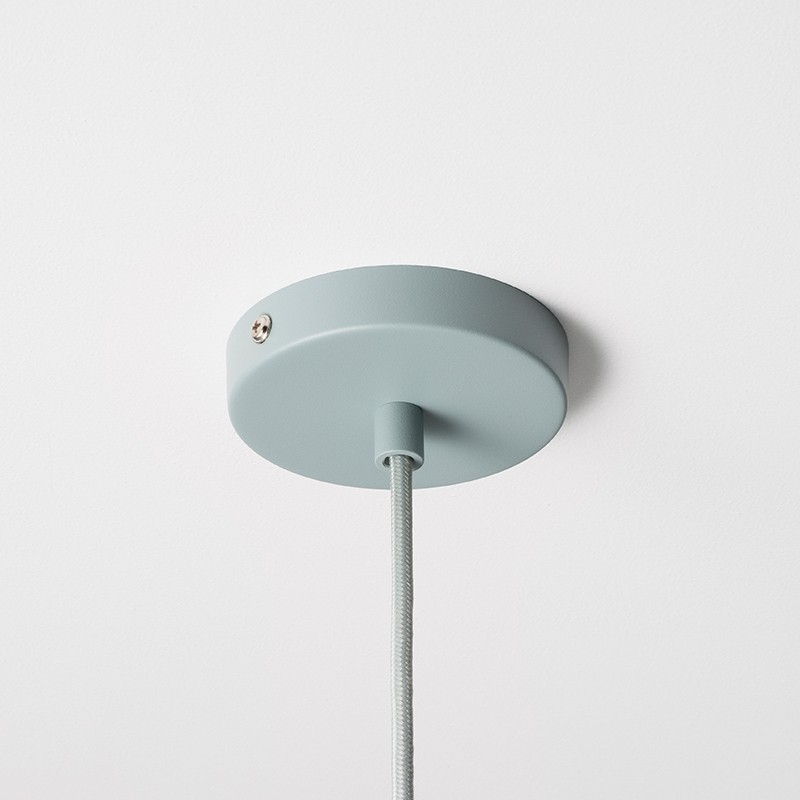 Ferm Living Socket Pendel Høj Dusty Blue-31