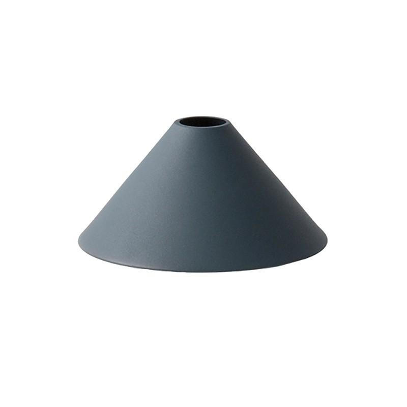 Ferm Living Lampeskærm Cone Shade Mørkeblå-31