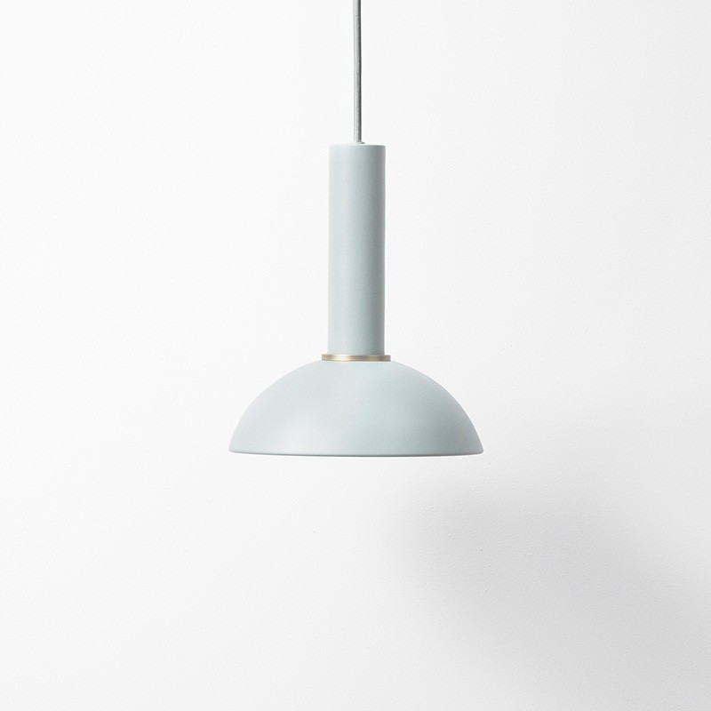 Ferm Living Lampeskærm Hoop Shade Dusty Blue-31