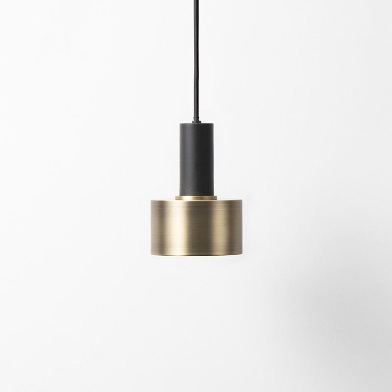 Ferm Living Lampeskærm Disc Shade Messing-31