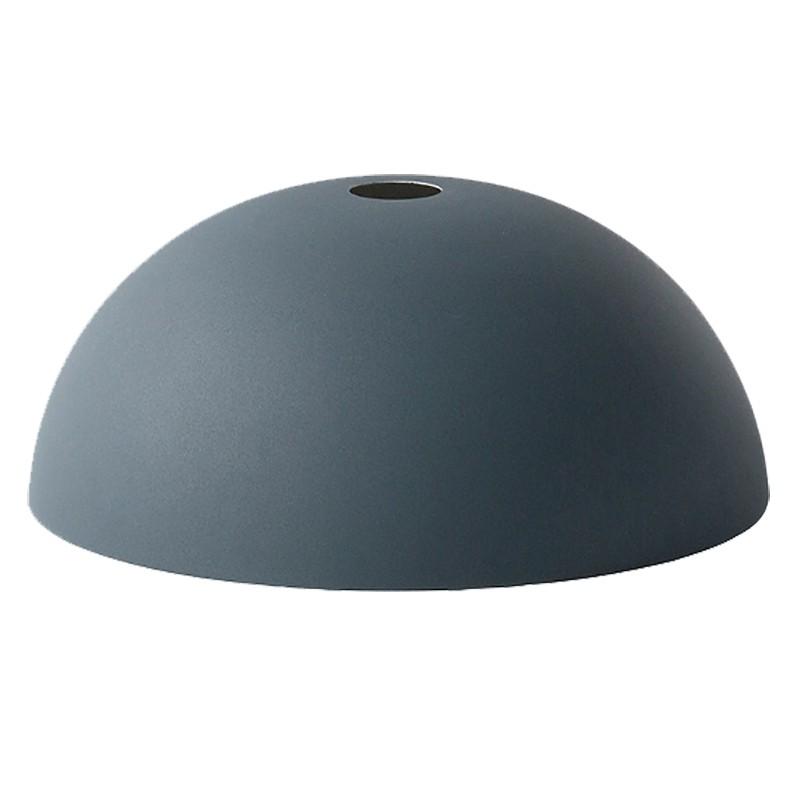 Ferm Living Lampeskærm Dome Shade Mørkeblå-31