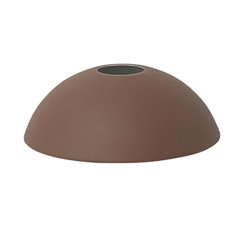 Ferm Living Lampeskærm Hoop Shade Rødbrun-31
