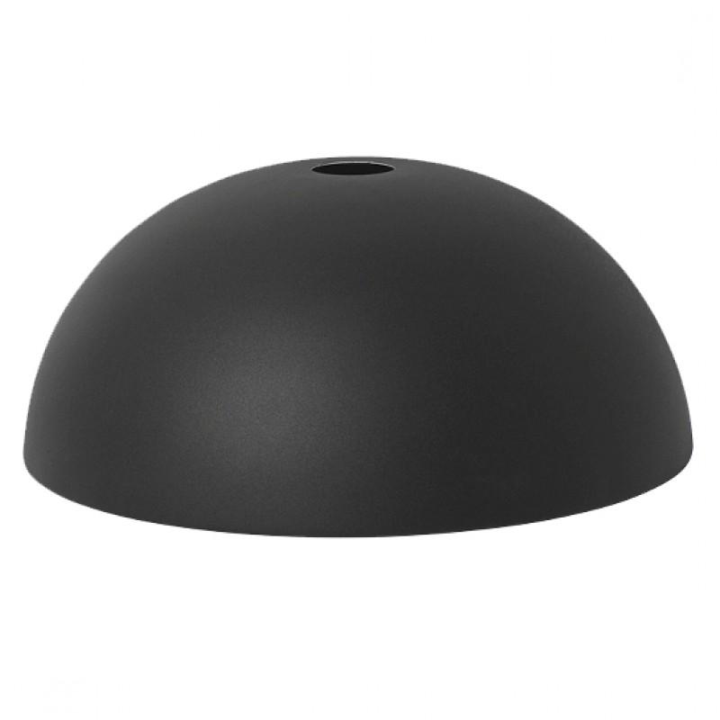 Ferm Living Lampeskærm Dome Shade Sort-31